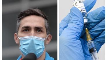 Campanie privind vaccinarea anti-Covid. Valeriu Gheorghiță i-a provocat pe Andreea Esca și Mihai Bobonete. Video