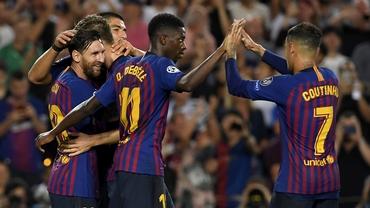 Leo Messi, primul gol din sezonul 2018-2019 în grupele Champions League. Vezi execuţia! Video