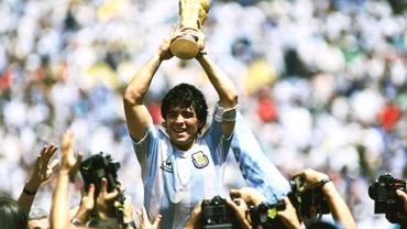 Diego Maradona, eroul Argentinei în 1986!