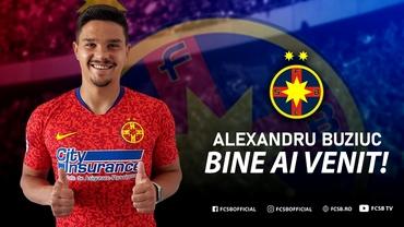Alexandru Buziuc a semnat cu FCSB! Gigi Becali nu plătește niciun ban Clinceniului. Fanatik confirmat. Update exclusiv