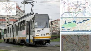 Cum arată harta transportului în comun în marile orașe europene! Bucureștiul, la ani lumină de celelalte capitale importante