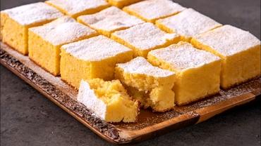 Rețeta zilei. Prăjitura cu mălai și iaurt, desertul care l-a cucerit pe Papa Francisc la Blaj