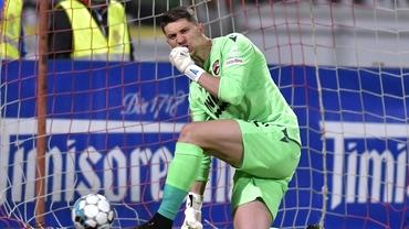 Mihai Eșanu și coșmarul penalty-urilor! Ce a pățit portarul lui Dinamo în finala de la tineret cu Viitorul