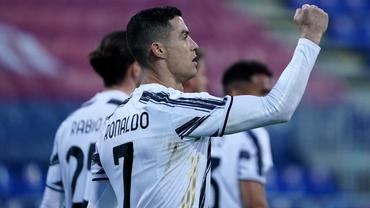 Cristiano Ronaldo, 3 goluri în 30 de minute în partida cu Cagliari. Când marcase ultimul hatrrick. Video