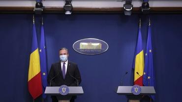 """Premierul interimar Nicolae Ciucă, despre un posibil lockdown în decembrie: """"Infirmăm fake news-urile"""""""