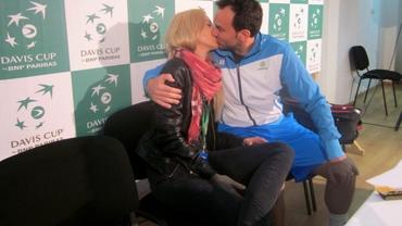 Florin şi Daiana Mergea, anunţ surpriză imediat după victoria cu Maroc