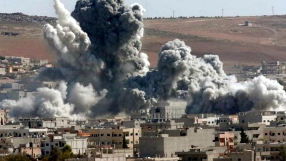 Bombardamente masive asupra poziţiilor teroriste din Siria