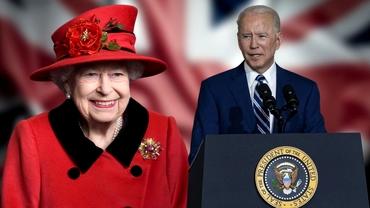 Joe Biden se va întâlni cu Regina Elisabeta a II-a. Ce preşedinte american nu a avut nicio întrevedere cu Majestatea Sa
