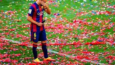 SURPRIZĂ! Cine a preluat numărul lui Xavi la Barcelona. Şi-a făcut SELFIE cu tricoul