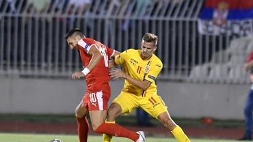 Serbia - România 2-2. Remiză spectaculoasă la Belgrad. Video