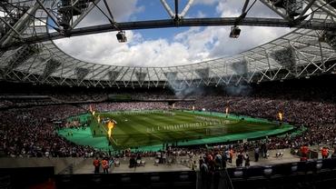Cele mai pline stadioane din Premier League! West Ham este liderul surpriză. Manchester City, peste United