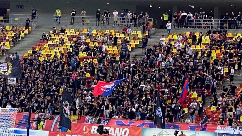 """Fanii FCSB au luat foc după eliminarea din Conference League: """"Lăsați tricourile și plecați toți!"""""""
