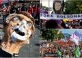 Proteste masive în Brazilia! Preşedintele Bolsonaro a refuzat 70 de milioane de doze de vaccin