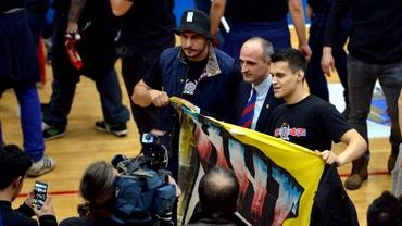Florin Talpan, atacat de fanii CSA Steaua: