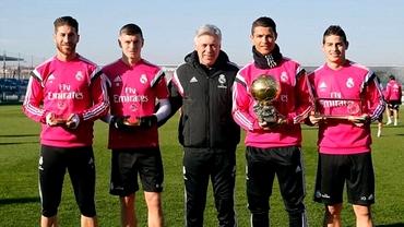 REVANŞA! Ronaldo, primul meci după ce a luat Balonul de Aur. Echipele probabile la Real - Atletico