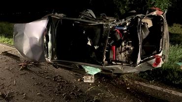 Accident rutier înfiorător! Fiul proprietarilor Mold Carpaţi a murit după ce a intrat frontal cu mașina într-un copac