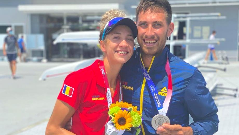 Gest emoționant al unui medaliat olimpic al României la Tokyo. Ce a făcut la finalul ceremoniei de premiere