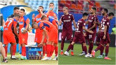 FCSB şi CFR Cluj, cele mai bine cotate echipe din Liga 1! Cum arată clasamentul loturilor înainte de startul sezonului 2021-2022
