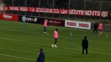Fanii lui Atletico au protestat la ultimul antrenament! Motivul incredibil care a stârnit furia
