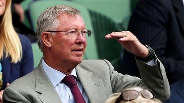 """Alex Ferguson a ADORMIT în """"Loja Roială"""" de la Wimbledon!"""