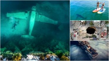 Zece imagini surprinse cu drona care au scos la iveală adevărate surprize. Nimănui nu i-a venit să creadă. Foto