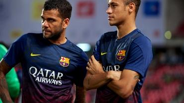 FOTO şi VIDEO. Jucătorii Barcelonei au aterizat la Madrid. Vezi momentul!