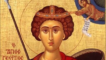 Sfântul Gheorghe, celebrat în a doua zi de Paşte. La ce biserică din România sunt aduse moaştele mucenicului