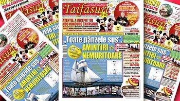 A apărut un nou număr al revistei Taifasuri! Nu ratați un editorial emoționant Fuego, 5 pagini vindecătoare de Farmacia Verde sau cum puteți câștiga o excursie la Disneyland cu toată familia
