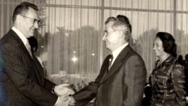 """Manea Mănescu, tovarășul credincios care i-a semnat lui Nicolae Ceaușescu diploma de """"intelectual"""" și ultimul care i-a... pupat mâna!"""
