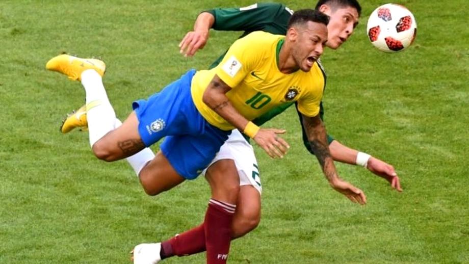 11 momente amuzante în care Neymar face ce știe mai bine - simulează și exagerează. Galerie foto