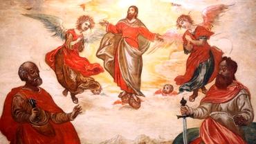 """Azi e Înălțarea Domnului! Până când se salută cu """"Hristos s-a înălțat"""""""