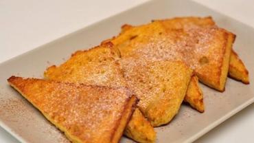 Cea mai simplă rețetă de frigănele sau pâine cu ou. Cum se face desertul copilăriei