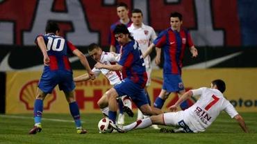 Bălgrădean, Moți și Dănciulescu, titulari în echipa lui Dinamo la ultima victorie obținută pe terenul FCSB-ului în campionat. Formaţia lui Becali era antrenată de Sorin Cârţu