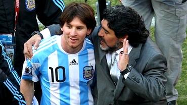 """Diego Maradona i-a prezis viitorul lui Messi în urmă cu patru ani: """"O să îi facă ce mi-au făcut şi mie!"""""""