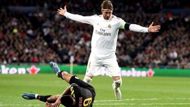 Sergio Ramos a intrat în istoria neagră a fotbalului pentru cartonașele roșii primite! A bătut recordul în Champions League și La Liga