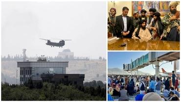 Video. Talibanii au preluat puterea în Afganistan. Joe Biden, către cei blocați: Vă vom duce acasă. Polonia trimite la Kabul 100 de militari. Update
