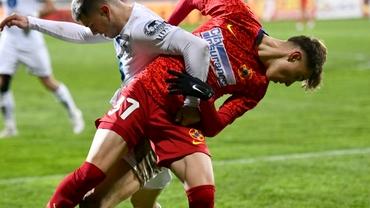 """Moment incredibil după penalty-ul lui Octavian Popescu în Gaz Metan-FCSB: """"Să vezi ce pumni îți dau!"""