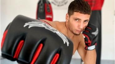 """Darius Betean, luptătorul de MMA de la Blood Fight League: """"M-am apucat de sport pentru că eram obez!"""" Traseu de la anonimat… la titlul de campion!"""