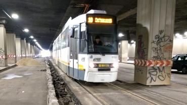 Stație de tramvai nouă  în Pasajul Piața Victoriei. Când va fi gata