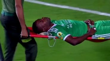 VIDEO HORROR / Poate avea soarta lui Neşu după un duel la minge! A căzut pe spate şi şi-a fracturat coloana