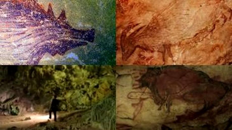 A fost descoperită cea mai veche pictură rupestră. Datează de mai bine de  45.000 de ani