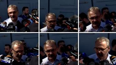 Cum arată Liviu Dragnea după doi ani de închisoare. Momentul ieşirii din penitenciar al fostului lider PSD