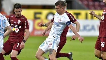 CFR Cluj – FCSB, sărac cu golurile. Doar un derby din ultimele 20 a avut mai mult de două reușite