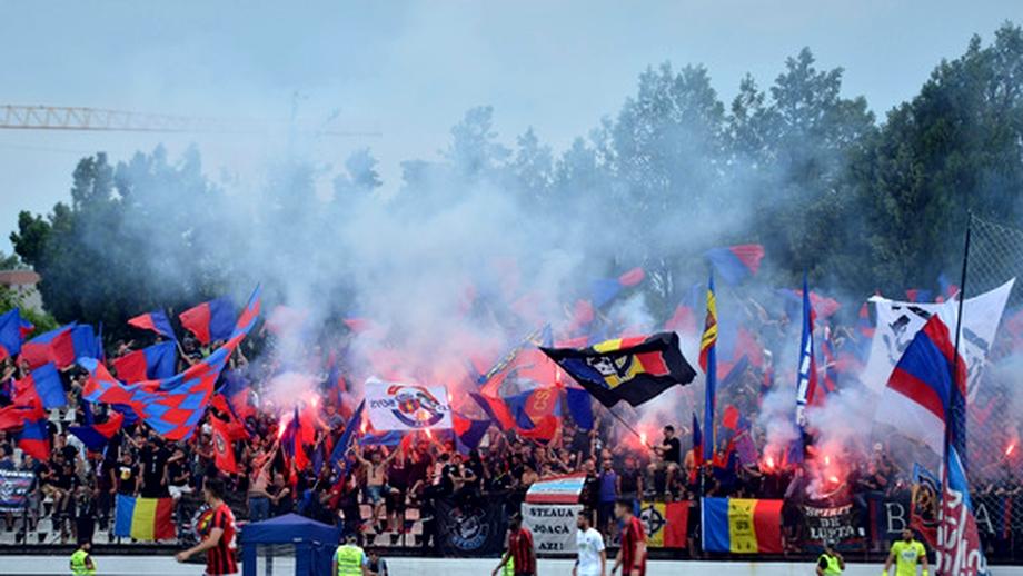 Peluza Sud Steaua a reacționat după ce Gheorghe Mustață a anunțat că FCSB va juca pe Ghencea