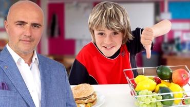 O nouă disciplină în şcoli. Un deputat AUR vrea ca elevii să învețe timp de opt ani cum să mănânce sănătos