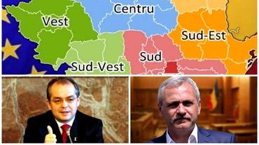 De ce se tem politicienii de desființarea județelor și crearea regiunilor. Istoria unui proiect eșuat