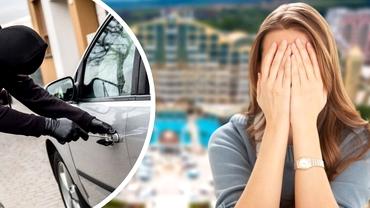 """Ce a pățit o româncă a cărei mașină a dispărut chiar din parcarea hotelului bulgăresc la care era cazată: """"Numai hoți peste tot!"""""""