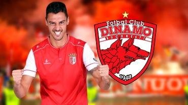 Dinamo, ultima lovitură pe piața transferurilor. Fostul căpitan al lui Sporting Braga a bătut palma cu Iuliu Mureșan. Exclusiv