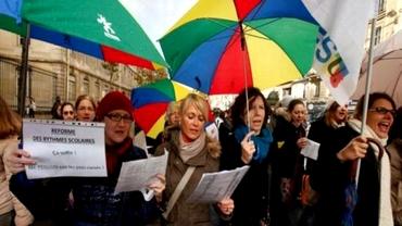 Profesorii francezi au intrat în grevă