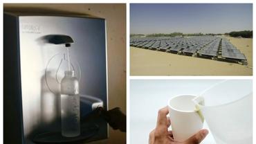 Invenţia care poate schimba lumea: apă din lumina soarelui şi aer. Unde sunt instalate generatoarele